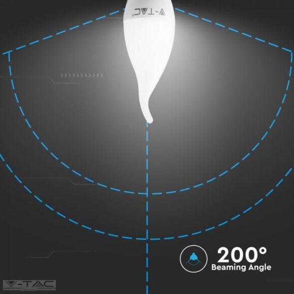 5,5W LED izzó Samsung chip E14 gyertyaláng 6400K - PRO119