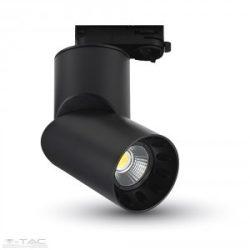 23W LED Kirakatvilágítás Fekete 5000K - 1202
