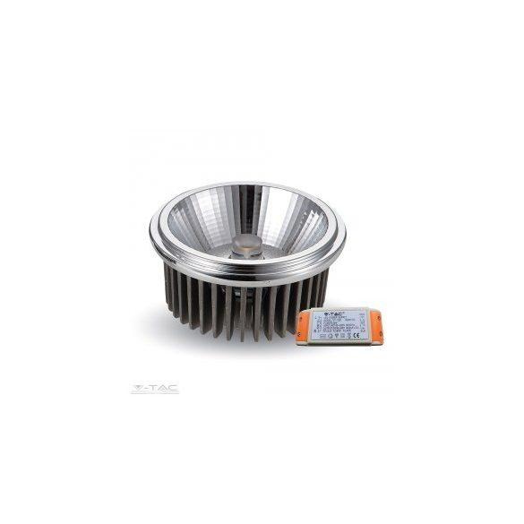 LED Spotlámpa - AR111 20W 12V Beam 20 COB Chip 6000K - 1245