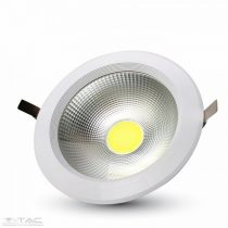 20W LED mélysugárzó kör alakú A++ 6400K - 1275