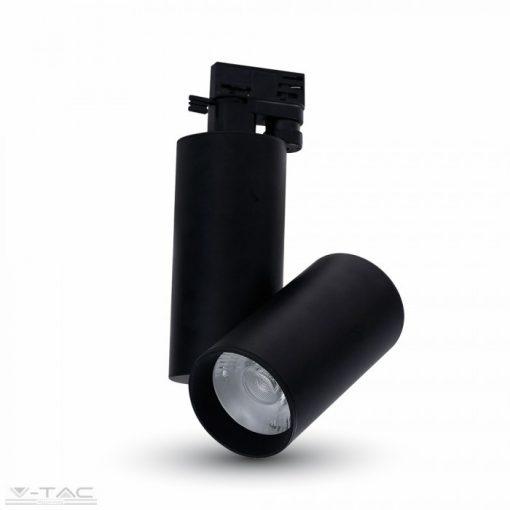 30W LED kirakatvilágító fekete 6400K - 1297
