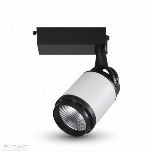 10W LED kirakatvilágító fekete/fehér 6400K - 1334