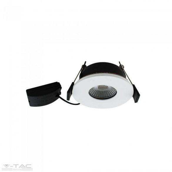 7W LED fehér tűzbiztos mélysugárzó tükröződésmentes lencsével 2700K - 1416