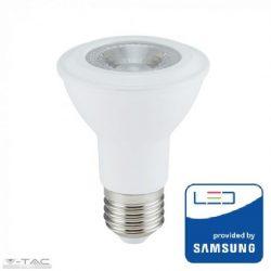 7W LED izzó E27 PAR20 Samsung chip 3000K - PRO147