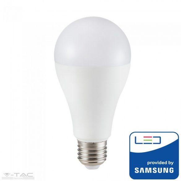 15W LED izzó Samsung chip E27 A65 3000K 5 év garancia - PRO159