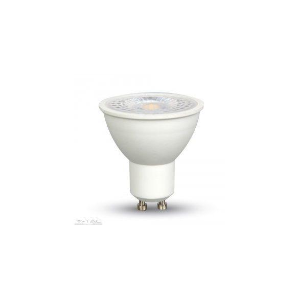 7W Dimmelhető LED spotlámpa GU10 lencsés 38° Hideg fehér - 1668