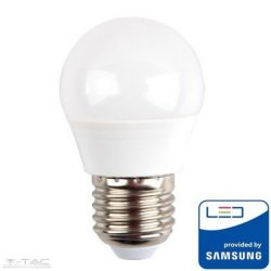 5,5W LED izzó Samsung chip E27 G45 4000K 5 év garancia - PRO175