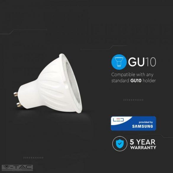 6W LED spotlámpa Samsung chip GU10 lencsés 10° 6400K - PRO20028