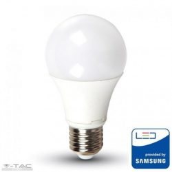 6,5W LED izzó Samsung chip E27 A60 3000K A++ 5 év garancia - PRO255