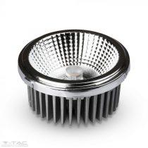20W AR111 LED spotlámpa 40°/20° ezüst 6400K  - 2794