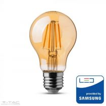 4W Retro LED izzó Filament Samsung chip E27 A60 2200K - PRO282