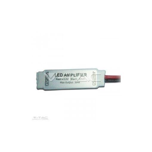 Mini erősítő RGB 5050-es LED szalaghoz 3 * 4A 3018