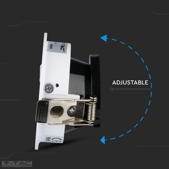 GU10 kör beépítőkeret fehér/fekete - 3161