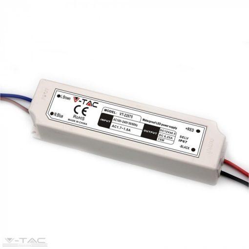 75W Műanyag tápegység EMC 12V 6A IP67 - 3235