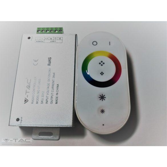 Rádiós vezérlő távirányítóval RGB LED szalaghoz - 3312