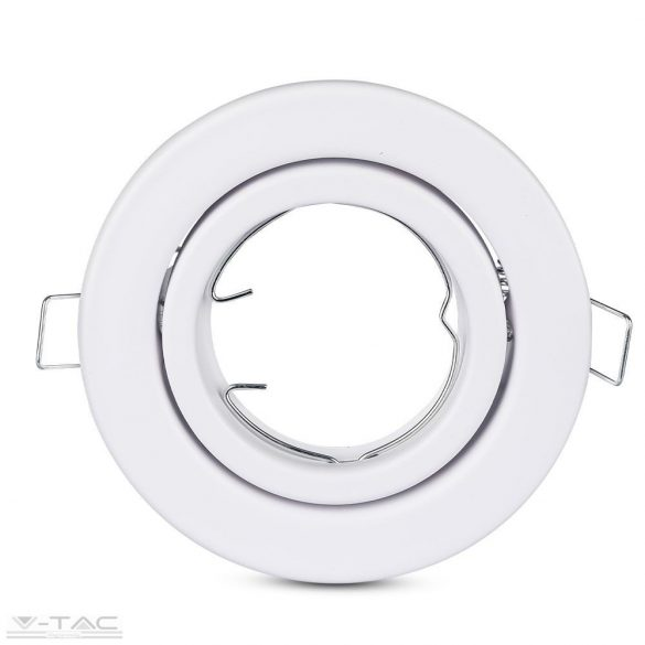 GU10 keret fehér kör - 3469
