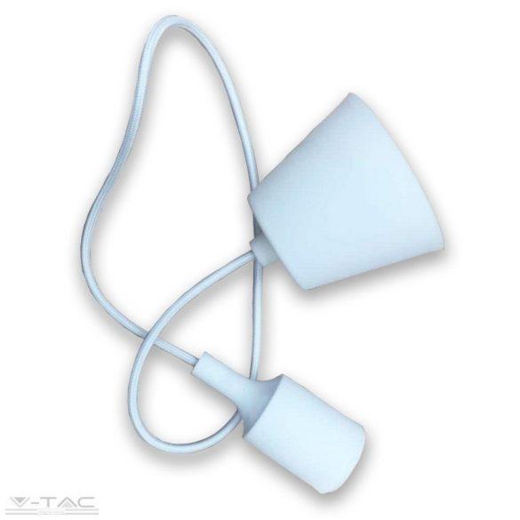 Függő lámpatest E27 fehér - 3477