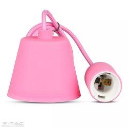 Függő lámpatest E27 rózsaszín - 3479