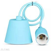 Függő lámpatest E27 világoskék - 3482