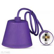 Függő lámpatest E27 sötét lila- 3483