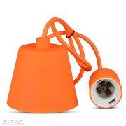 Függő lámpatest E27 narancssárga - 3484