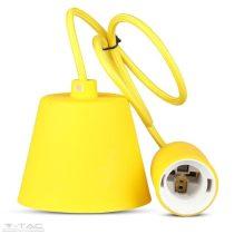 Függő lámpatest E27 sárga - 3485