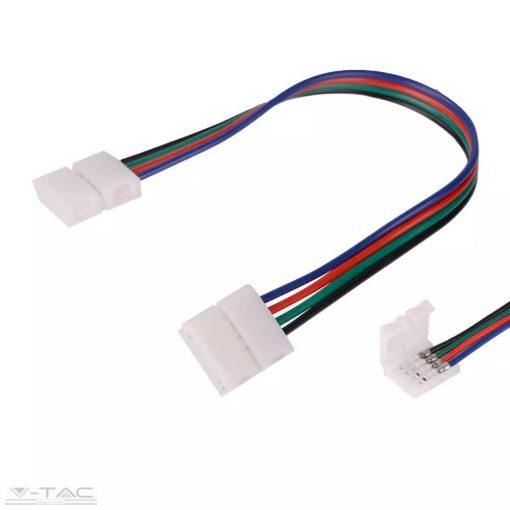 Rugalmas csatlakozó RGB LED szalaghoz - 3502