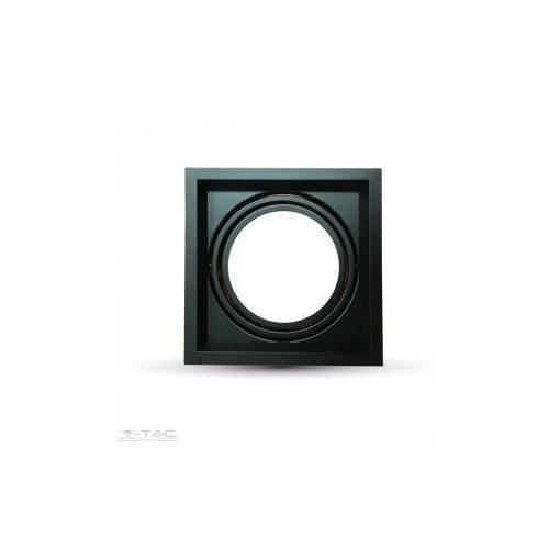 1x szerelék AR111-es fényforráshoz fekete - 3581