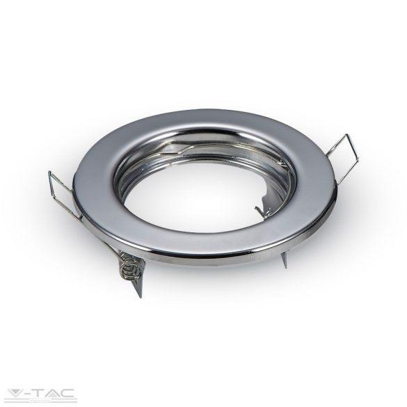 GU10 beépítőkeret króm 2db/csomag kör - 3586