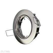 GU10 beépítőkeret nikkel kör - 3588