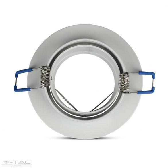 GU10 keret kör alakú fehér - 3599