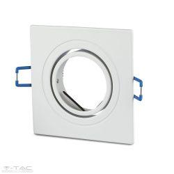 GU10 beépítőkeret szögletes alumínium - 3605