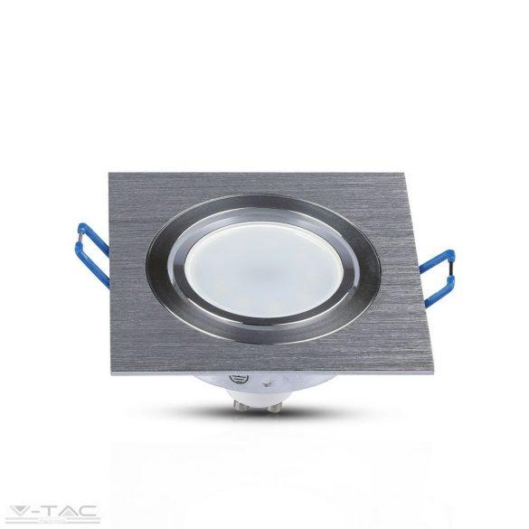 GU10 beépítőkeret szögletes alumínium - 3606