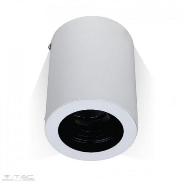Felületre szerelhető billenthető GU10 keret fehér kör - 3627