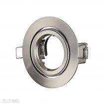 GU10 beépítőkeret nikkel kör - 3646