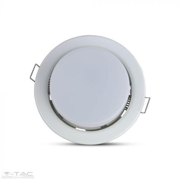 GX53 beépítőkeret foglalattal fehér - 3675