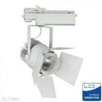 33W LED fehér sínes lámpatest Samsung chip 4000K 5 év garancia - PRO369