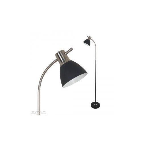 Hajlítható álló lámpa fekete - 3703