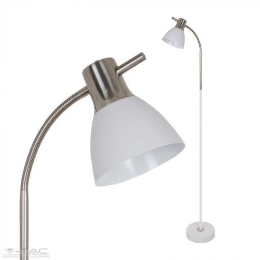 Hajlítható álló lámpa fehér - 3704