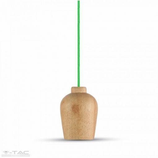 Fa függeszték zöld vezetékkel - 3725
