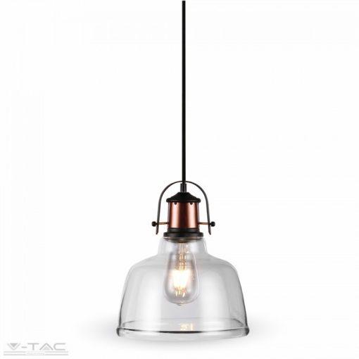 Átlátszó üveg csillár - 3727