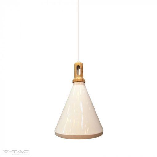 Modern fehér fém csillár - 3761