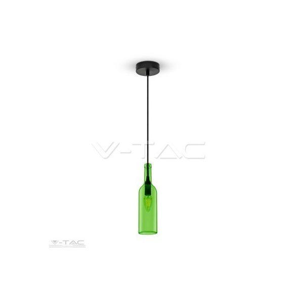 Palack csillár zöld - 3767