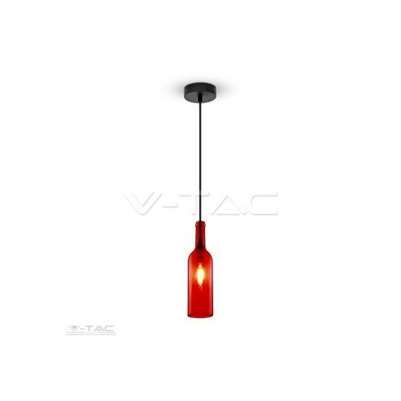 Palack csillár piros - 3769