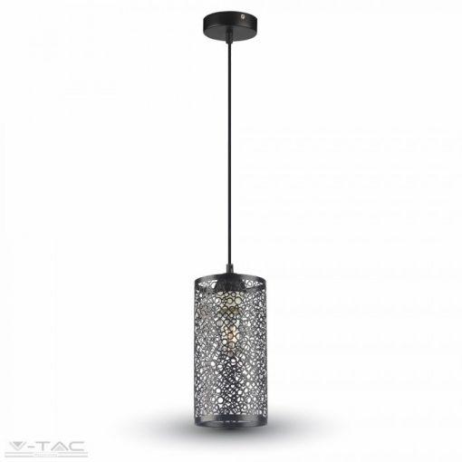 Kör hálós fém csillár - szürke szín - 3825
