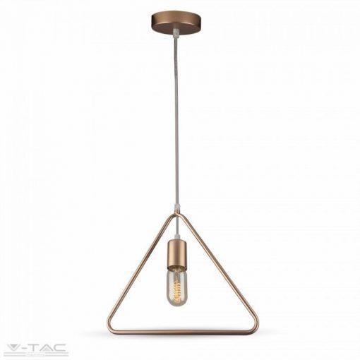 Triangulum csillár bronz