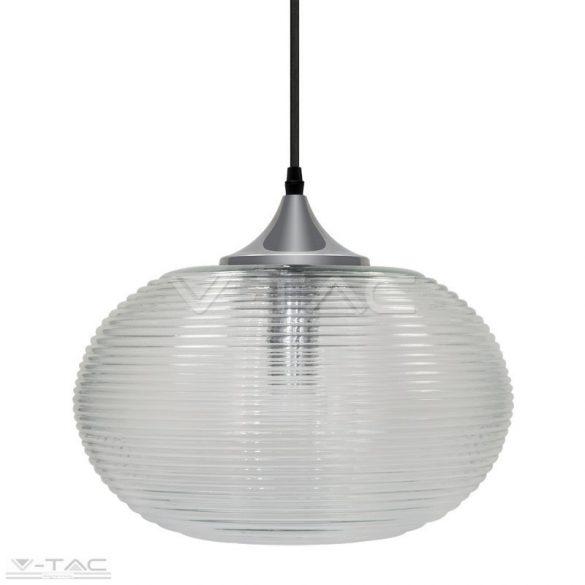 Átlátszó gyémánt vágott üveg csillár - 3879