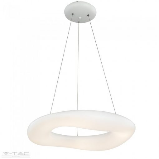 82W LED dimmelhető design csillár kör fehér - 3960
