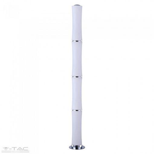 65W Exkluzív Bambusz négy tagú LED álló lámpa dimmelhető 3000K - 3977