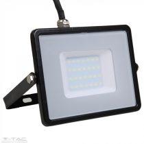30W LED reflektor Samsung chip fekete 3000K - PRO400